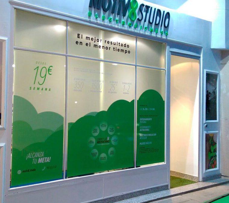 Fachada para Motiv 8 Studio
