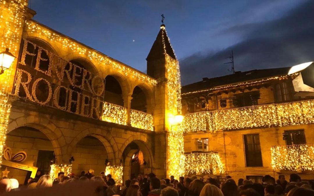 Feliz Navidad de parte de Ferrero y nuestras Letras Corpóreas