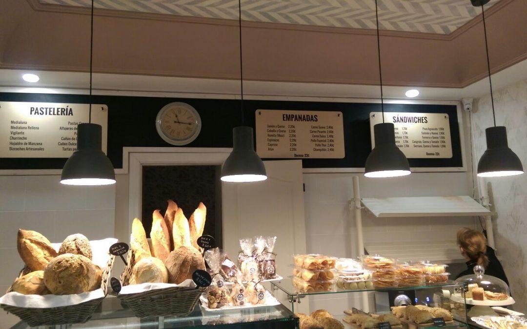 Cartelería interior de Malvón Empanadas Argentinas