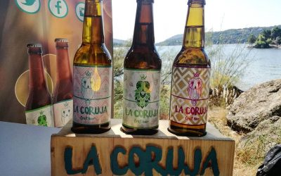 Preciosas etiquetas para cervezas La Coruja