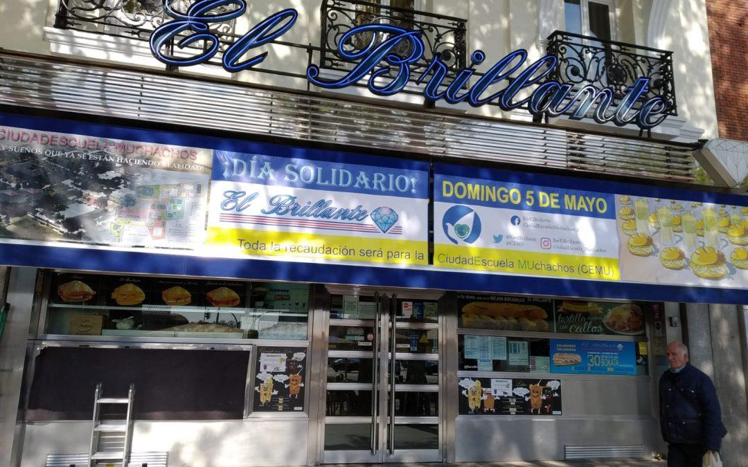 Día solidario en El Brillante de Atocha