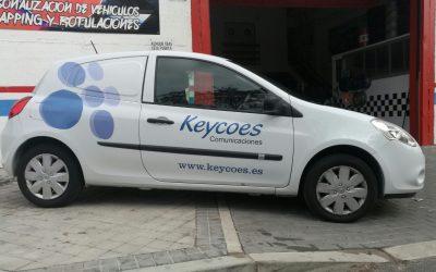 Rotulación Renault Clio Keycoes