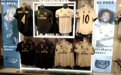 Real Madrid tiendas Aeropuerto de Madrid Barajas
