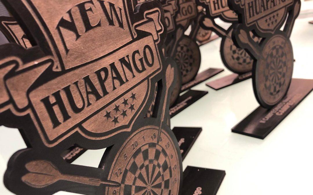 Trofeos Grabados En Madera De New Huapango.