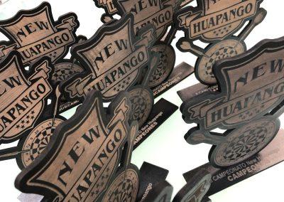GrafiRótulo Trofeos Grabados Madera Dardos Huapango