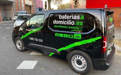 Flota Vehículos Baterías a Domicilio